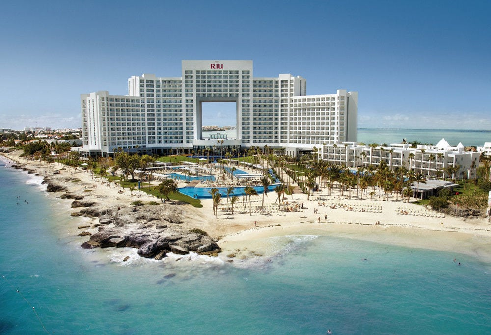RIU hotels in Cancún, Mexico