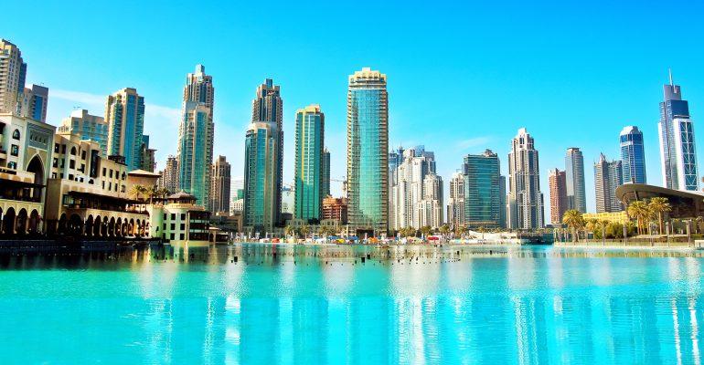 Dubaiin de Verenigde Arabische Emiraten